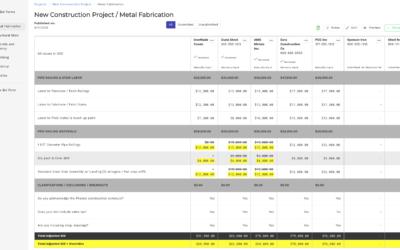 Bid Forms In PipelineSuite